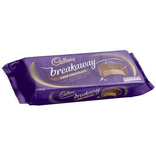 Cadbury Breakaway Dark Chocolate Biscuit