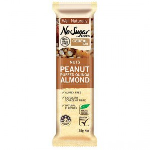 Well Naturally No Sugar Added Cereal Nuts Bar