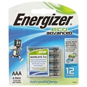 Energizer Eco Advanced Aaa Batteries