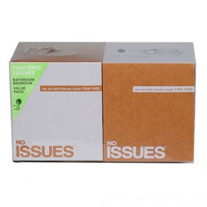 No Issues Facial Tissues Cube