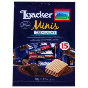 Loacker Gardena Chocolate Minis