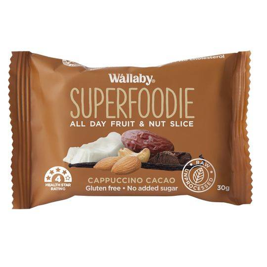 Wallaby Superfoodie Bar Capp Cacao
