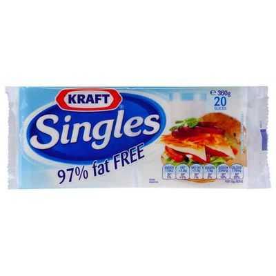 Kraft Singles 97% Fat Free