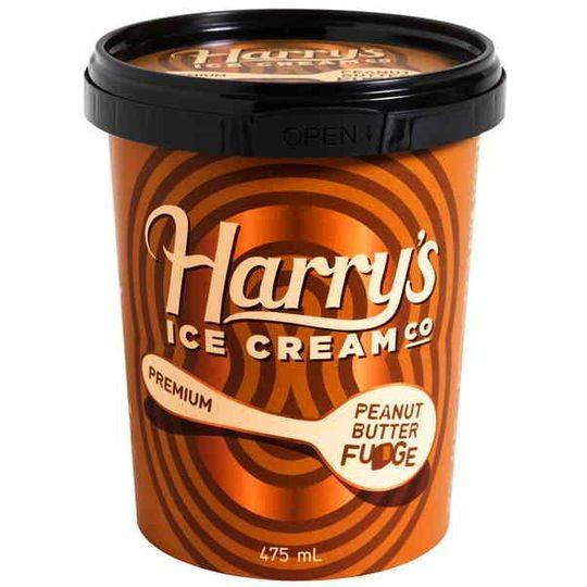 Harry's Ice Cream Peanut Butter Fudge