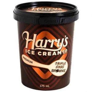 Harry's Ice Cream Triple Choc Brownie