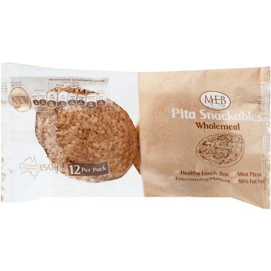 Meb Wholemeal Snackables