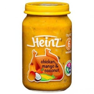 Heinz Chicken Sweetcorn & Mango 6 Months+