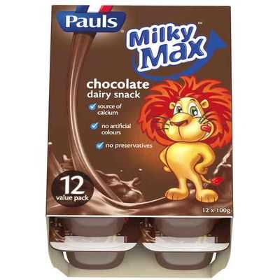 Pauls Milky Max Chocolate Dairy Snack