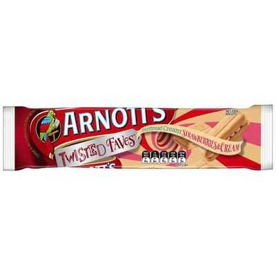 Arnott's Shortbread Creams Strawberry & Cream
