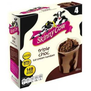 Skinny Cow Ice Cream Triple Choc