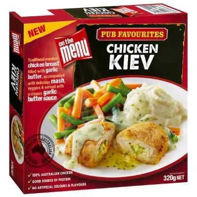 On The Menu Chicken Kiev