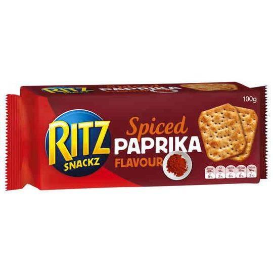 Ritz Paprika Snackz