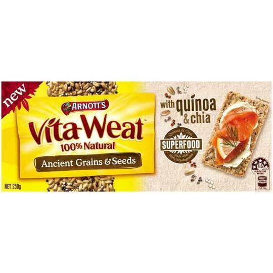 Arnott's Vita Weat Crispbread Ancient Grains & Seeds
