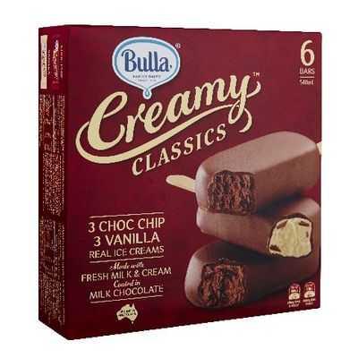 Bulla Creamy Classics Ice Cream Choc Chip