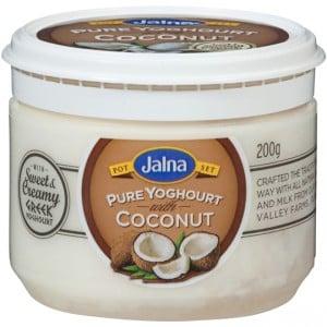 Jalna Pure Yoghurt With Coconut