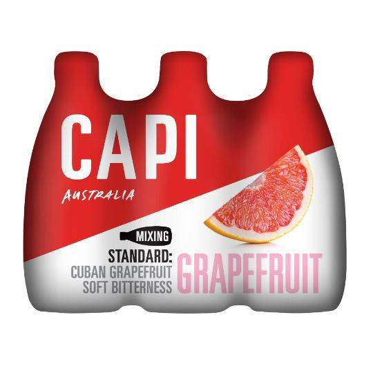 Capi Pink Grapefruit Fruit Soda