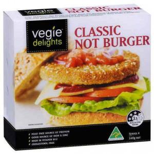 Vegie Delights Not Burger
