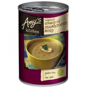 Amys Kitchen Canned Soup Organic Cream Of Mushroom