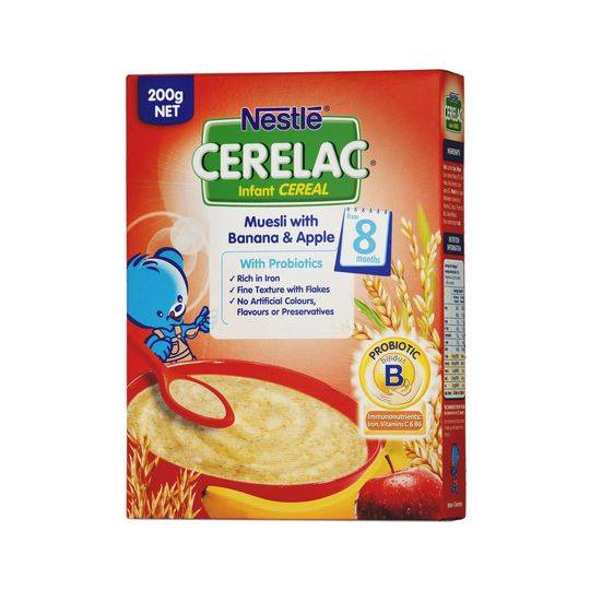 Cerelac Muesli With Banana & Apple From 8 Months