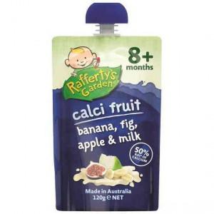 Rafferty's Garden Calci-fruit Banana, Fig & Apple 8 Months+