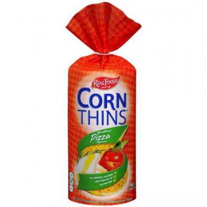 Real Foods Pizza Corn Thins