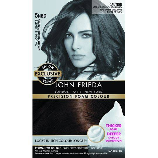 John Frieda Salon Blends 5nbg Med Chestnut Brown