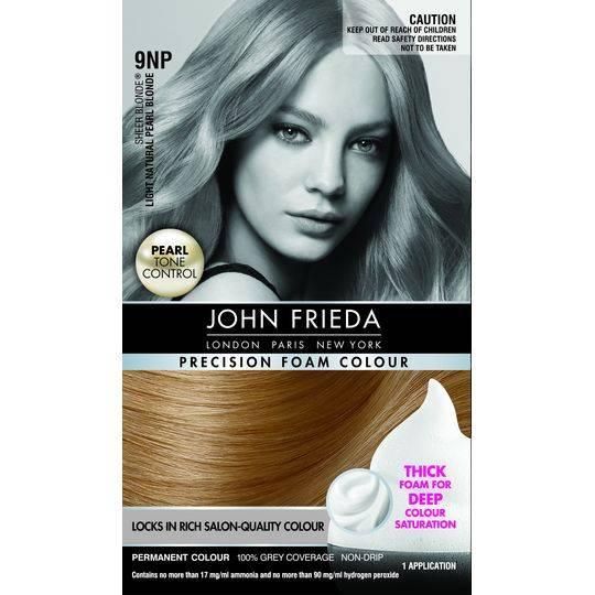 John Frieda Precision Foam Colour Light Natural Pearl Blonde 9np