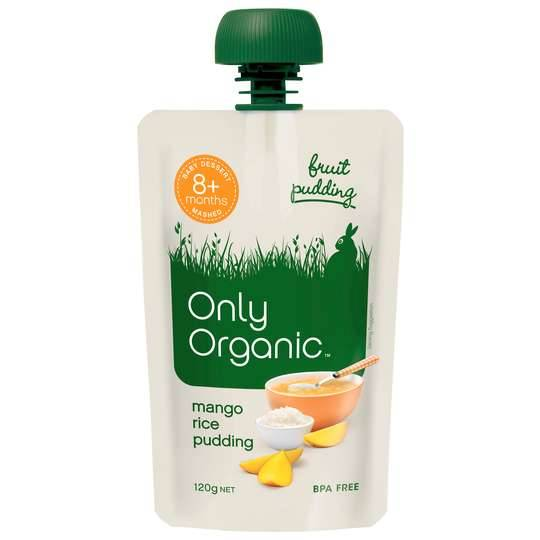 Only Organic Mango Rice Pudding 8mnth+