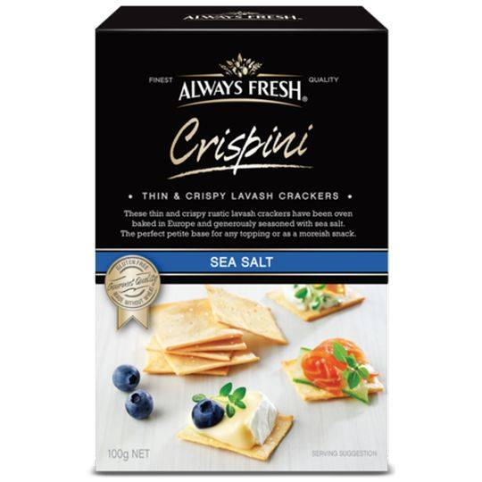 Always Fresh Sea Salt Crispini