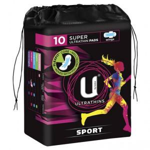U By Kotex Sport Ultrathin Super