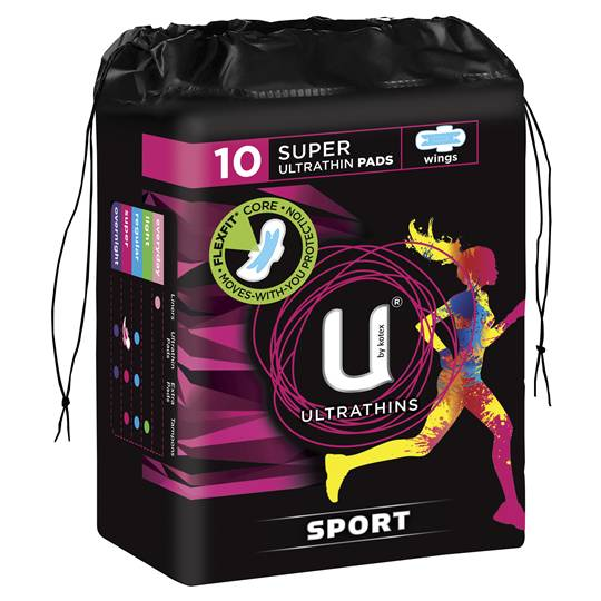 U By Kotex Sport Ultrathin Super