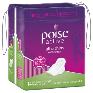 Poise Active Ultrathins With Wings Regular