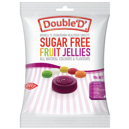 Double D Fruit Jellies Sugar Free