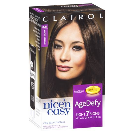 Clairol Nice'n Easy Age Defy-3.5 Darkest Brown