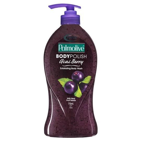 Palmolive Acai Berry Body Polish