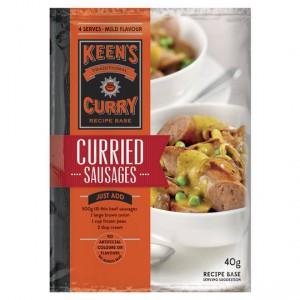 Keens Curried Sausage