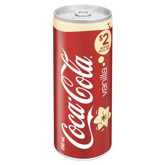Coca Cola Vanilla Can