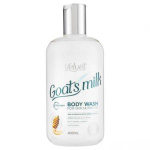 Velvet Goats Milk & Honey Bodywash