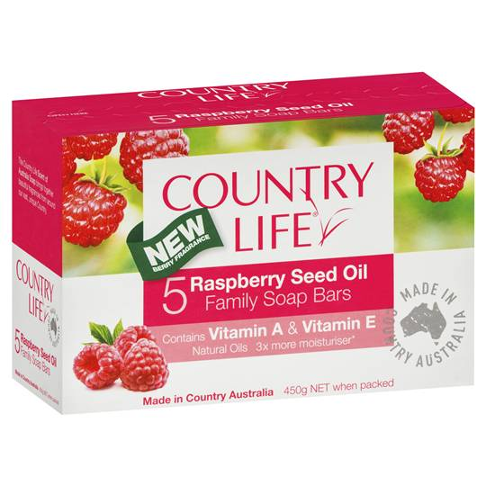 Country Raspberry Seed Oil Soap