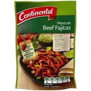 Continental Recipe Base Mexican Beef Fajitas