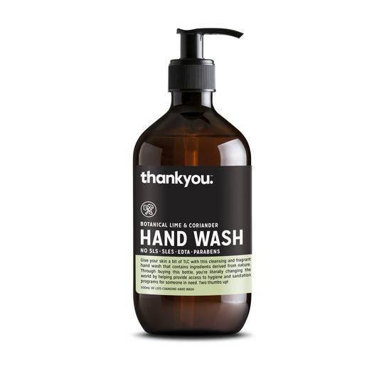 Thankyou Botanical Lime & Coriander Handwash