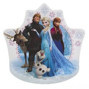 Zak Melamine Plate Crown Frozen