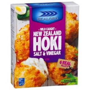 Sealord Hoki Fillets Salt & Vinegar Crumb