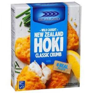 Sealord Hoki Fillets Classic Crumb