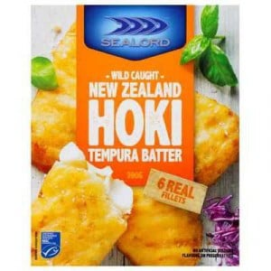 Sealord Hoki Fillets Tempura Batter