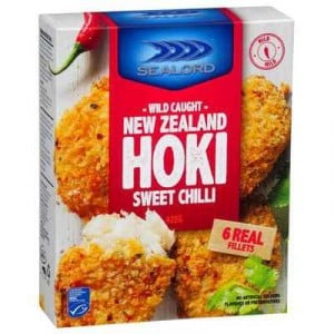 Sealord Hoki Fillets Sweet Chilli Crumb