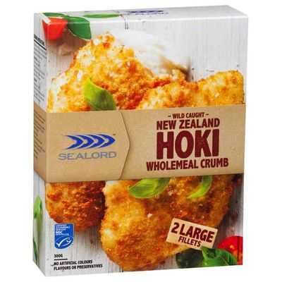 Sealord Premium Hoki Fillets Wholemeal