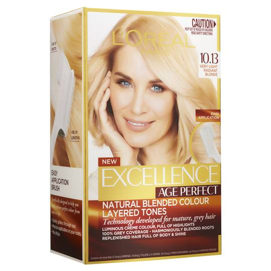 L'oreal Excellence Age Perfect Very Light Blonde 10.13