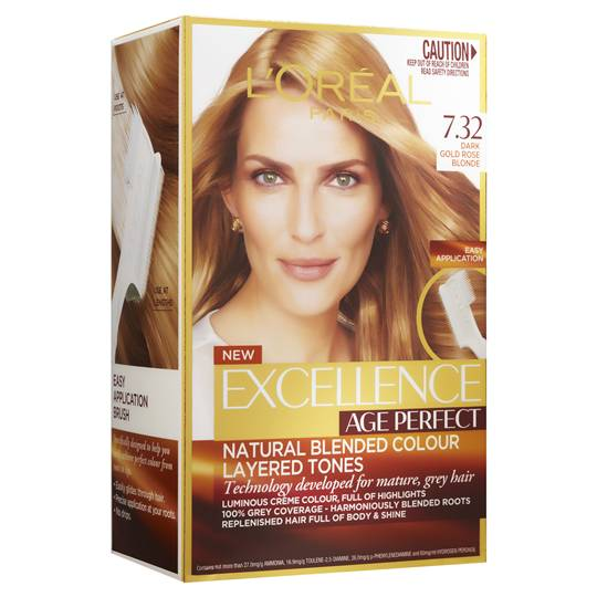L'oreal Excellence Age Perfect Very Light Blonde 7.32