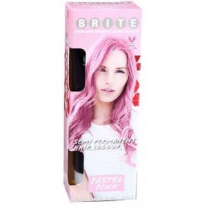 Brite Organix Semi Permanent Hair Colour Pastel Pink